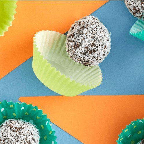Choc, Date & Coconut Balls