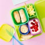 Chicken & Veggie Rice Paper Rolls + Snacks